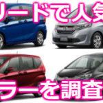 フリード&フリード Modulo Xの人気色ランキング【決定版】